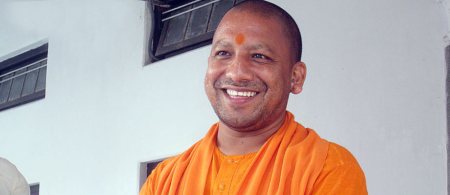 Mahanth Yogi Adityanath Photos to whatsapp post for free download